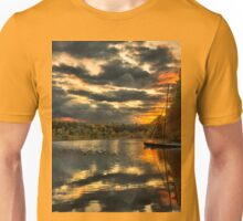 Colorful lake Waban Unisex T-Shirt