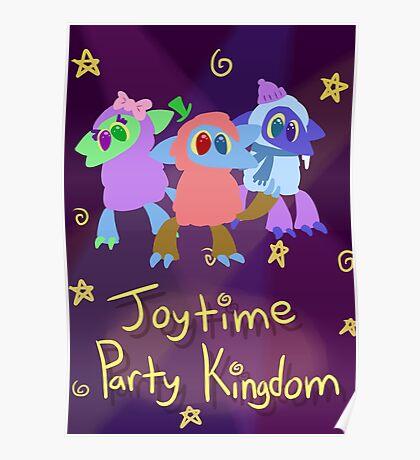 Joytime Party Kingdom Poster Poster