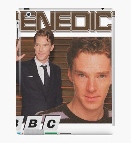 Benedict Cumberbatch 90s tee iPad Case/Skin