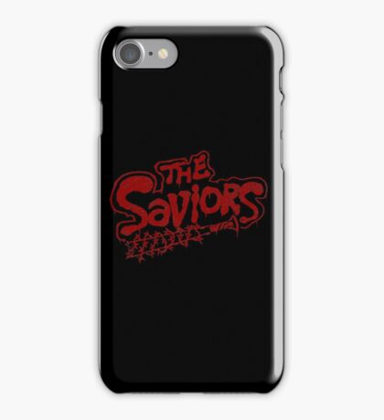The Saviors Gang iPhone Case/Skin