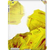 Yellow Ink iPad Case/Skin