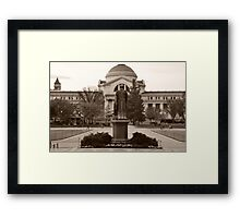 Joseph Henry - Smithsonian National Museum of Natural History Framed Print