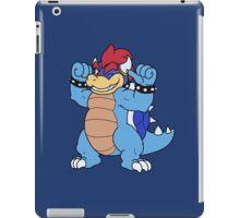 Blue Bowser iPad Case/Skin