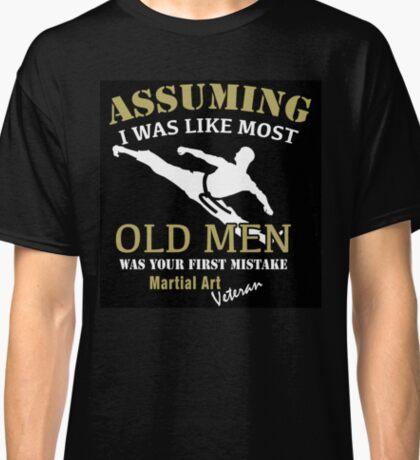Martial Art Veteran Classic T-Shirt