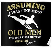 Martial Art Veteran Poster