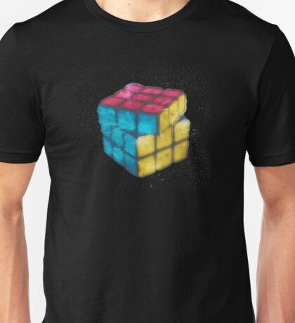 Fractal 3d Rubik Cube Unisex T-Shirt