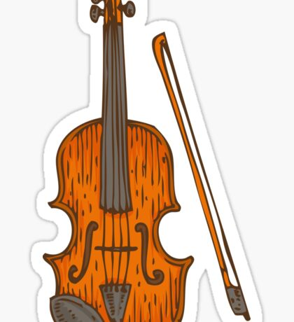 Fiddle Sticker