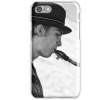 Street Sax iPhone Case/Skin
