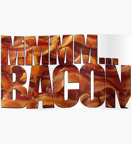 MMMM... Bacon Poster