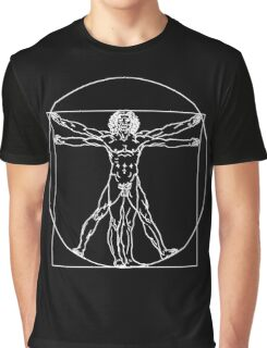 The Vitruvian Man by Leonardo da Vinci Graphic T-Shirt