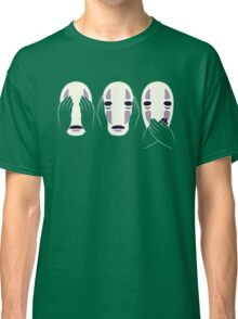 no face ghost Classic T-Shirt