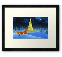 little foxy Framed Print