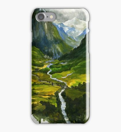 The Hidden Valley iPhone Case/Skin