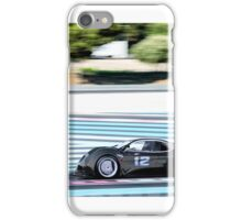 Super car concept fury on track iPhone Case/Skin