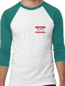 Hello My Name Is Inigo Montoya You Drank My Coffee Men's Baseball ¾ T-Shirt