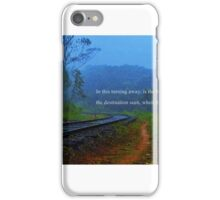 The search for meaning... iPhone Case/Skin