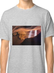 Light Beams in the Canyon Classic T-Shirt