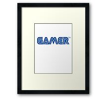 Gamer TM Framed Print