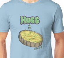 Hugs and Quiches Unisex T-Shirt