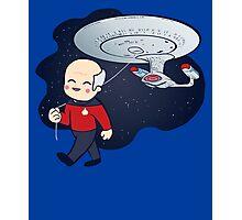 Star Trek Enterprise Picard NCC1701-D Photographic Print