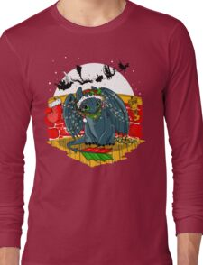 Night Fury Before Christmas Long Sleeve T-Shirt