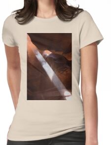 Look To The Light Womens Fitted T-Shirt