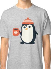 Penguin the Cute Penguin Winter Adorable Animal Classic T-Shirt
