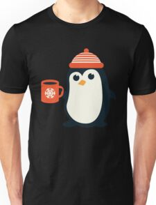 Penguin the Cute Penguin Winter Adorable Animal Unisex T-Shirt