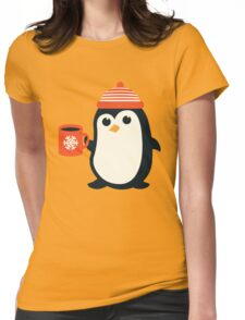 Penguin the Cute Penguin Winter Adorable Animal Womens Fitted T-Shirt