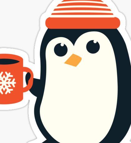 Penguin the Cute Penguin Winter Adorable Animal Sticker