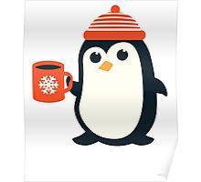 Penguin the Cute Penguin Winter Adorable Animal Poster