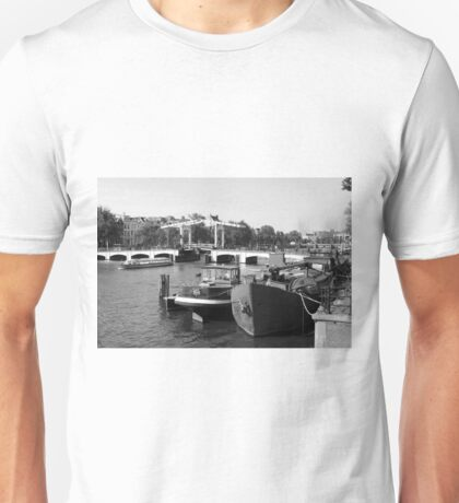 Amstel River Amsterdam  Unisex T-Shirt