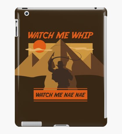 Watch Me Whip iPad Case/Skin