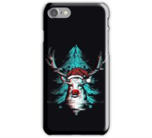 Christmas - Rudolph The Red Nose Reindeer iPhone Case/Skin