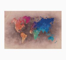 World map 5 Kids Tee