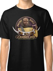 Star Trek TNG Worf Prune Juice Enterprise Classic T-Shirt
