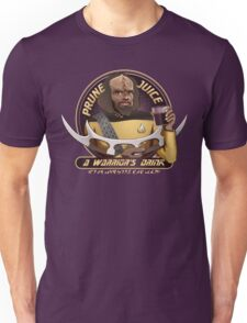 Star Trek TNG Worf Prune Juice Enterprise Unisex T-Shirt