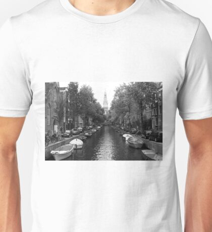 Amsterdam Canal Unisex T-Shirt