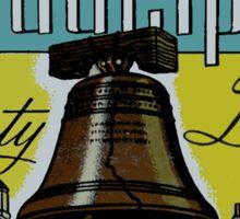 Philadelphia Liberty Bell Vintage Travel Decal Sticker