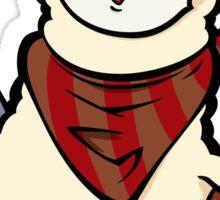 Alpaca cowboy Sticker