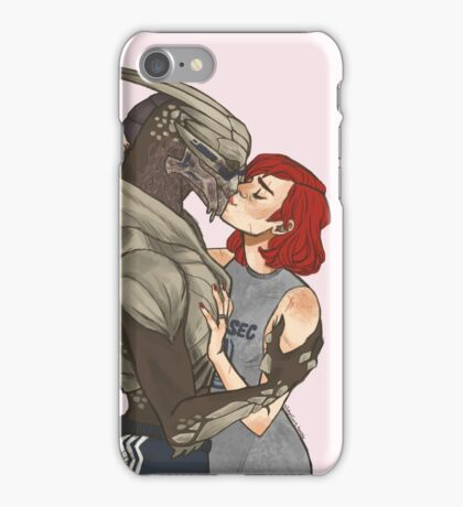 everything is peachy post me3 iPhone Case/Skin