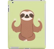 Sloth doing yoga iPad Case/Skin