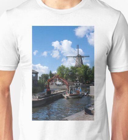 De Gooyer Windmill Amsterdam Unisex T-Shirt