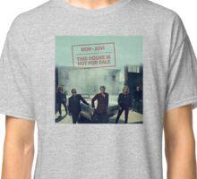Bon Jovi This House Is Not For Sale Merchandise Classic T-Shirt