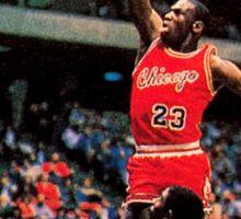 Michael Jordan Chicago Bulls NBA Basketball Rookie Card Sticker
