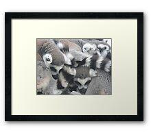 We Love: Huddle Framed Print