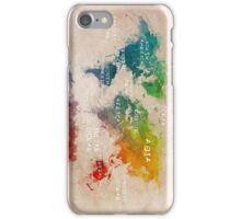 world map 14 iPhone Case/Skin