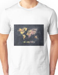 world map 12 Unisex T-Shirt