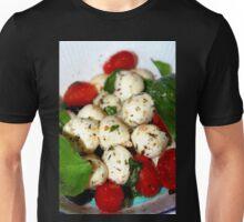 Cherry Tomato and Mozzarella Salad Unisex T-Shirt