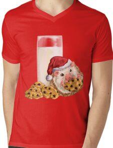 Christmas Cookie Hog Mens V-Neck T-Shirt